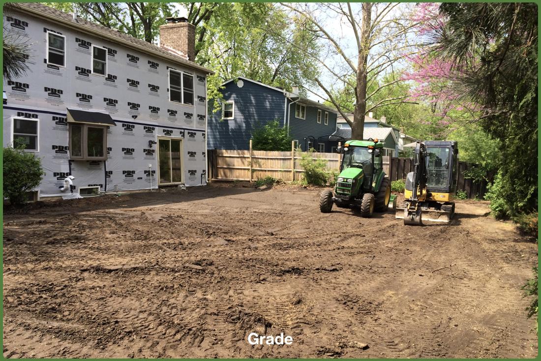 Demolition, Grading and Restoration