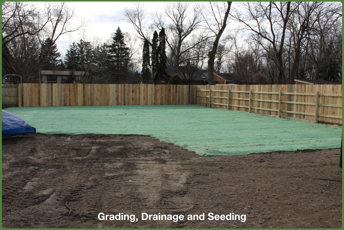 Yard Excavation and Grading